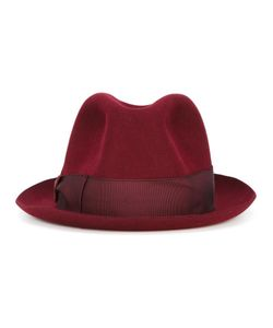 Borsalino | Grosgrain Band Trilby Hat Rabbit Fur Felt
