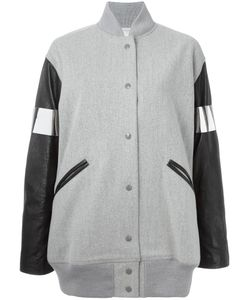 MM6 by Maison Margiela | Mm6 Maison Margiela Oversized Bomber Jacket 38 Virgin