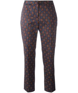 Burberry Runway | Tile Print Trousers 12 Cotton