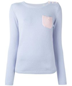 Chinti And Parker | One Pocket Jumper Small Cashmere