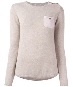 Chinti And Parker | One Pocket Jumper Large Cashmere
