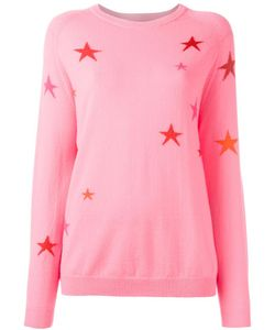 Chinti And Parker | Slouchy Star Jumper Large Cashmere