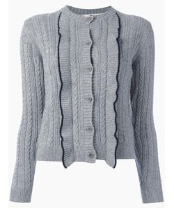 Chinti And Parker | Aran Cardigan Small Cashmere/Merino