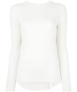 MM6 by Maison Margiela | Mm6 Maison Margiela Pleated Back Jumper Medium Viscose