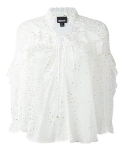 Just Cavalli | Dotted Print Blouse 42 Silk