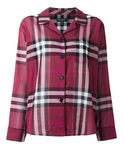 Burberry Runway | Checked Shirt 12 Cotton