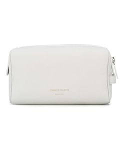 Common Projects | Logo Stamp Toiletry Bag Leather