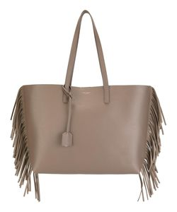 Saint Laurent | Large Shopping Fringed Tote Calf Leather