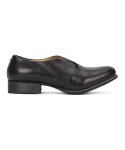 Yohji Yamamoto | Layered Slit Loafers 38 Rubber/Leather/Calf Leather