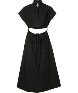 Rosie Assoulin | Flared Poplin Dress 0 Cotton