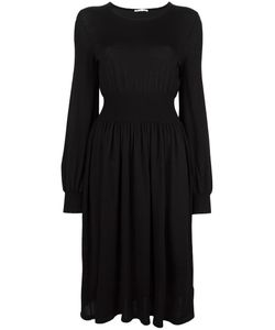Agnona | Gathered Waist Dress 44 Wool