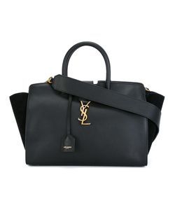 Saint Laurent | Small Monogram Cabas Tote Bag Calf Leather