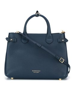 Burberry | Banner Tote Calf Leather/Canvas