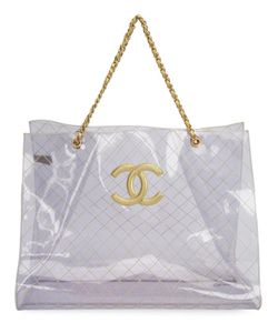 Chanel Vintage | Quilted Cc Tote