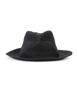Y'S | Fold Braid Hat Raffia/Polyester