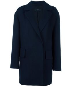 SYSTEM | Single Breasted Coat Small Cotton/Linen/Flax/Rayon