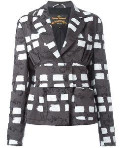 Vivienne Westwood Anglomania | Belted Blazer 42 Cotton/Elastodiene/Viscose