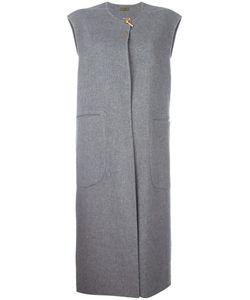 SYSTEM | Sleeveless Coat Medium Cashmere/Wool