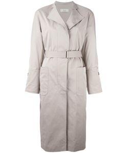SYSTEM | Belted Trench Coat Medium Cotton/Nylon
