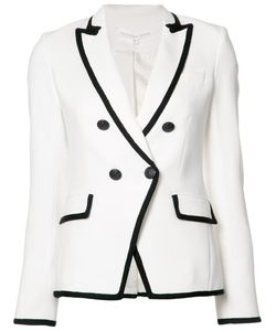 Veronica Beard | Double-Breasted Contrast Blazer 2 Polyester/Spandex/Elastane/Viscose