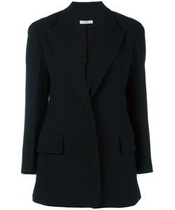 SYSTEM | Longline Blazer Small Polyester/Polyurethane/Wool