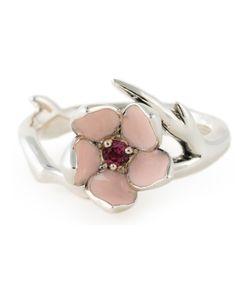 SHAUN LEANE | Cherry Blossom Rhodolite Ring 60