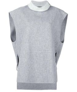 SYSTEM | Roll Neck Shortsleeved Sweater Medium Wool