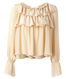 See By Chloe | See By Chloé Ruffled Bell Sleeve Blouse 36