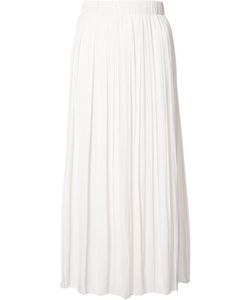 Elizabeth And James   Pleated Midi Skirt Xs Polyester