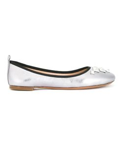 Marc Jacobs | Cleo Studded Ballerina Flats 37 Leather/Goat