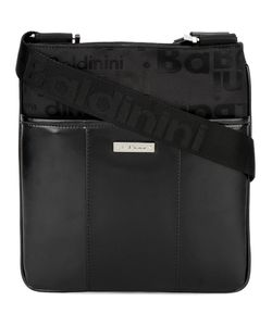 b9142a14e78d Baldinini - Front Compartment Messenger Bag Leather/Polyester
