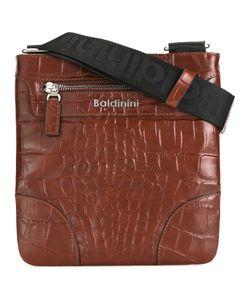 fe516373dc2a Baldinini - Crocodile Skin Effect Messenger Bag Leather
