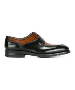 Salvatore Ferragamo | Two-Tone Lace-Up Shoes 7 Calf Leather/Leather/Rubber