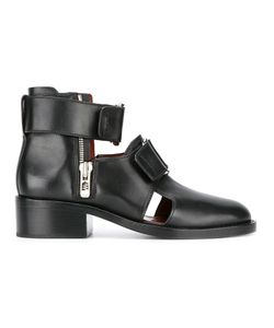 3.1 Phillip Lim | Buckle Ankle Boots 37 Leather