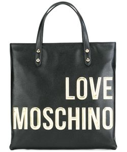 Love Moschino | Logo Square Backpack Leather
