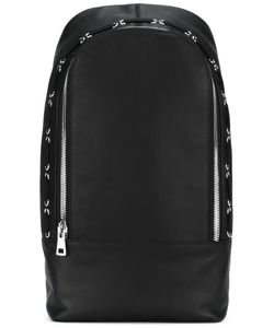 Diesel Black Gold | Lace-Up Detailing Backpack Nylon/Leather