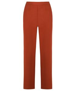 ANDREA MARQUES | Straight Leg Trousers 36 Acetate/Viscose