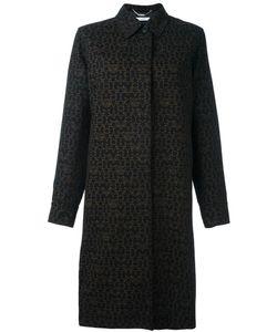 Givenchy | Logo Print Coat 36 Cotton/Viscose/Silk/Viscose