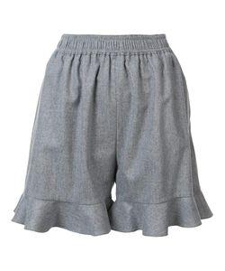 Stella Mccartney | Ruffled Shorts 40 Wool/Polyamide