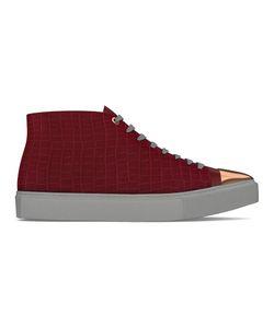 MYSWEAR   Carnaby Hi-Top Sneakers 40 Calf Leather/Crocodile Leather/Nappa