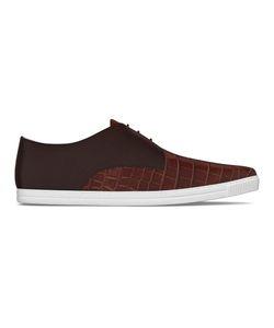 MYSWEAR   Dean Sneakers 35 Calf Leather/Crocodile Leather/Nappa Leather/Rubber