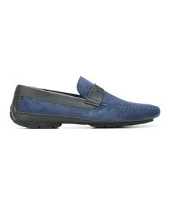 Moreschi | Scarpine Loafers 5 Suede/Leather/Rubber