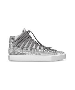 MYSWEAR   Redchurch Hi-Top Sneakers 37 Calf Leather/Crocodile Leather/Suede/Rubber