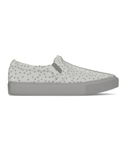MYSWEAR | Maddox Slip-On Sneakers 37 Calf Leather/Ostrich Leather/Rubber