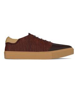 MYSWEAR | Kingsland Sneakers 39 Calf Leather/Crocodile Leather/Nappa Leather/Rubber