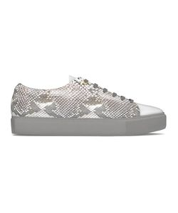 MYSWEAR | Vyner Sneakers 38 Calf Leather/Nappa Leather/Python Skin/Rubber