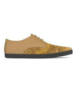 MYSWEAR | Dean Sneakers 41 Calf Leather/Crocodile Leather/Nappa Leather/Rubber