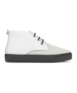 MYSWEAR | Maltby Mid-Top Sneakers 38 Calf Leather/Crocodile Leather/Nappa