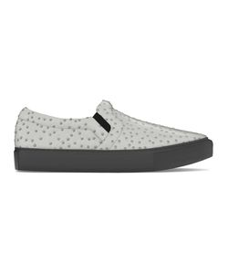 MYSWEAR | Maddox Slip-On Sneakers 40 Calf Leather/Ostrich Leather/Rubber