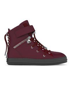MYSWEAR | Regent Hi-Top Sneakers 37 Calf Leather/Crocodile Leather/Nappa